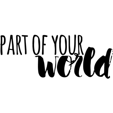 Part of your world (design only) - Morgan+Mae Co.