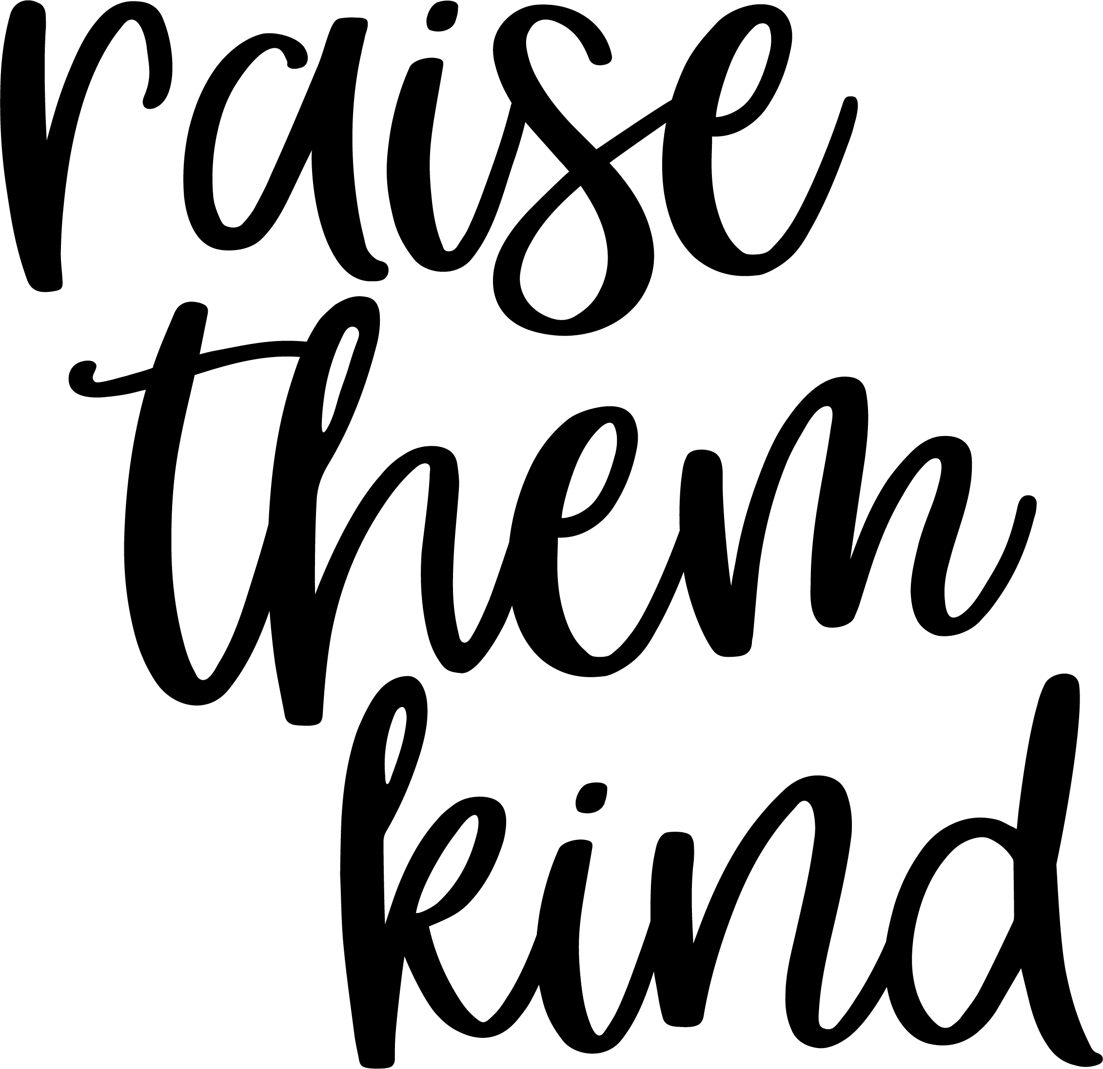 Raise Them Kind #KindCampaign (design only)