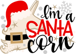 Santa Corn (design only) - Morgan+Mae Co.
