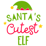Santa's Cutest Elf (design only) - Morgan+Mae Co.