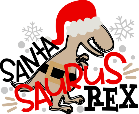 Santa Saurus Rex (design only) - Morgan+Mae Co.