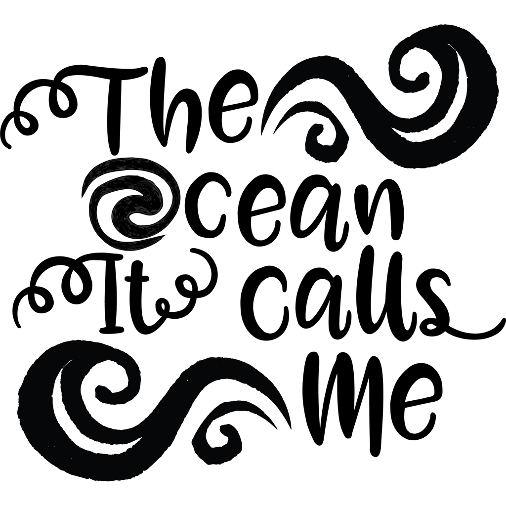 Morgan+Mae Co. Design The ocean it calls me Moana inspired (design only)