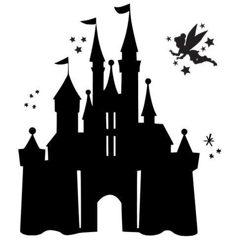 Morgan+Mae Co. Design Tinkerbell & Castle (design only)