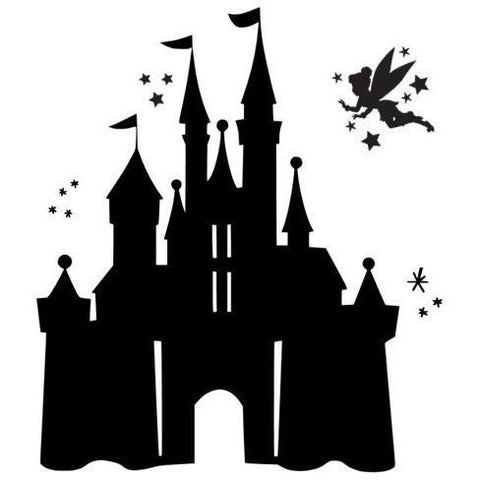 Tinkerbell & Castle (design only) - Morgan+Mae Co.