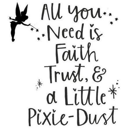 Morgan+Mae Co. Design Tinkerbell Quote (design only)