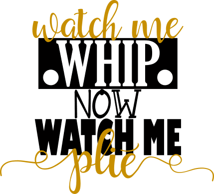 Morgan+Mae Co. Design Watch Me Whip, Now Plie (design only)