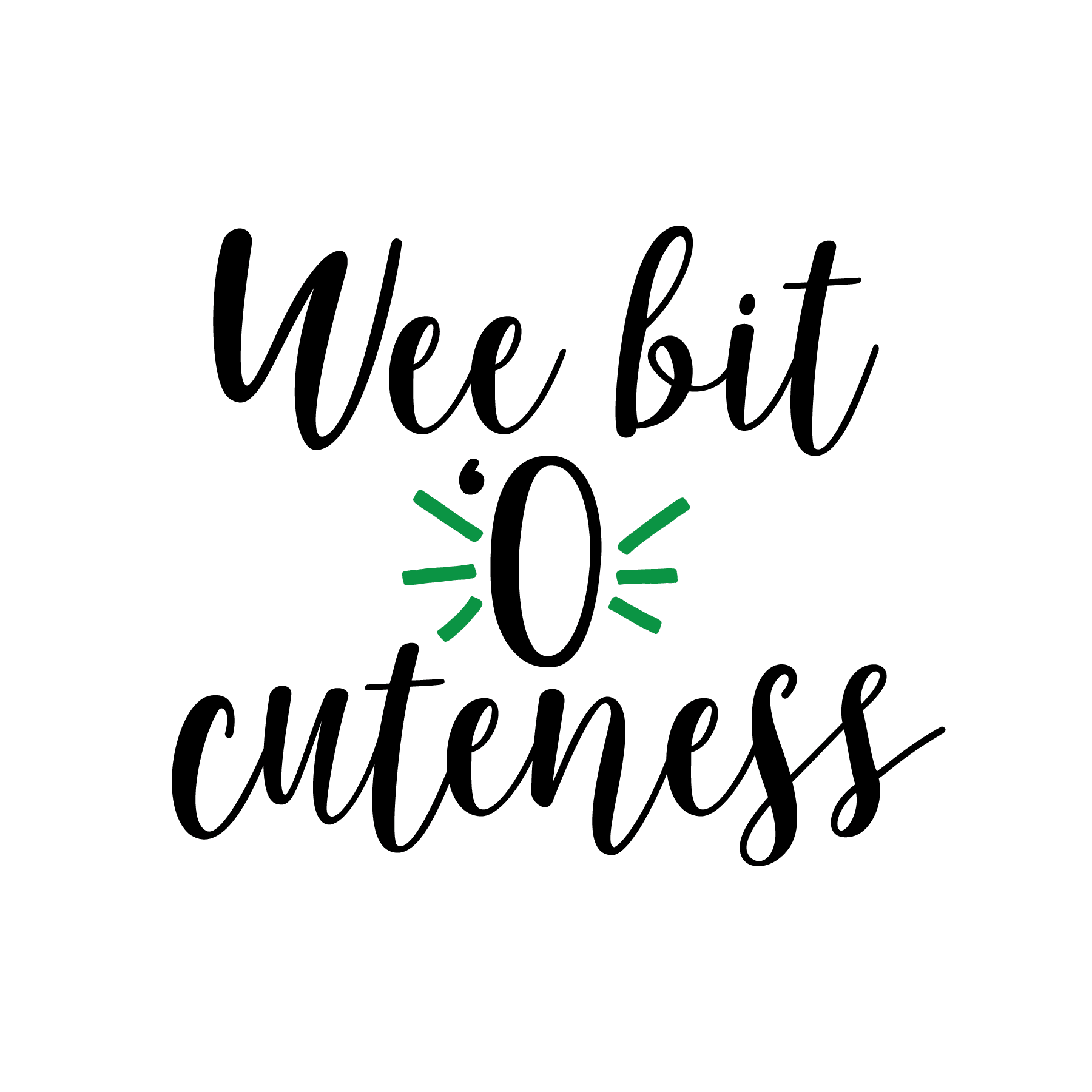 STPATS Wee bit o cuteness (design only)