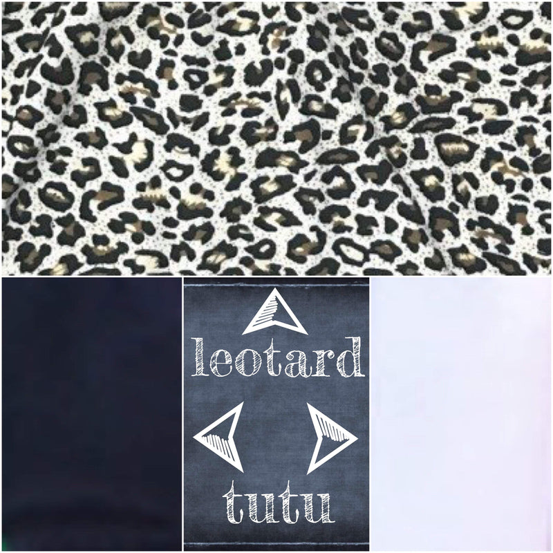 Tutu Dress Leopard - Morgan+Mae Co.