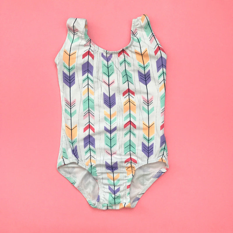 Arrow Sleeveless Leotard (Tank) - Morgan+Mae Co.
