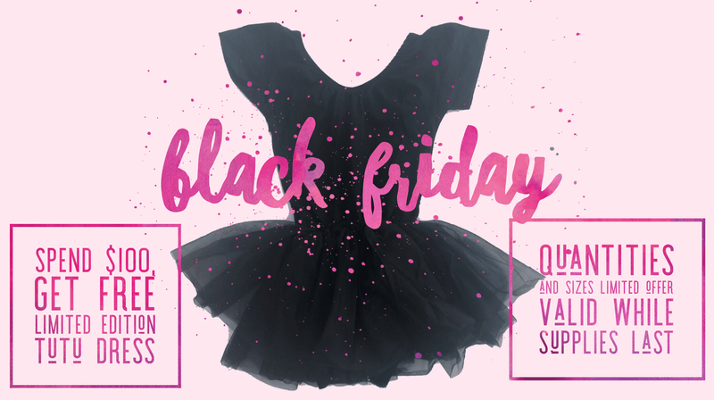Morgan+Mae Co. Leotard Black Friday Limited Edition Tutu Dress Leotard (Free with Purchase)