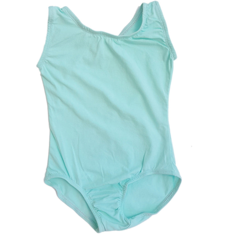 Cool Mint - Sleeveless Leotard (Tank) - Morgan+Mae Co.