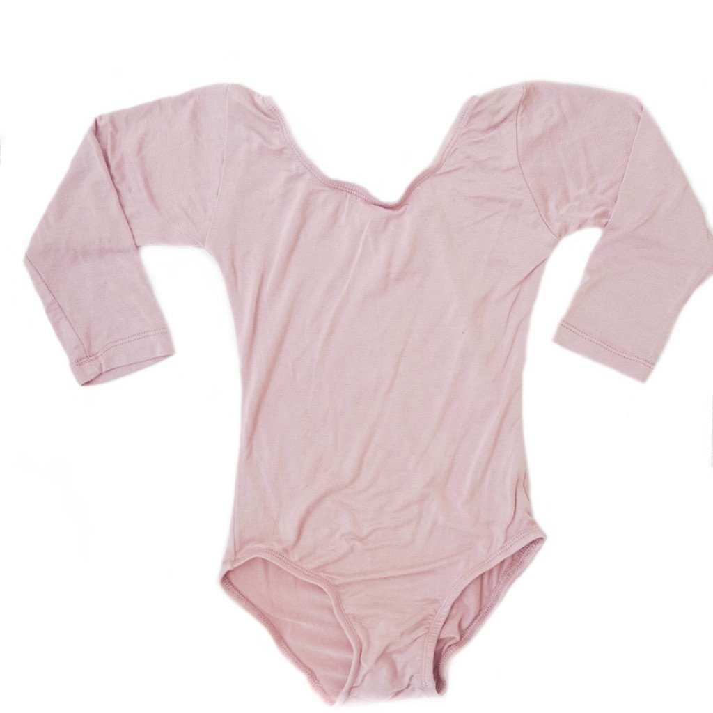 Morgan+Mae Co. Leotard Dusty Rose/Vintage Pink (Long Sleeve) Leotard