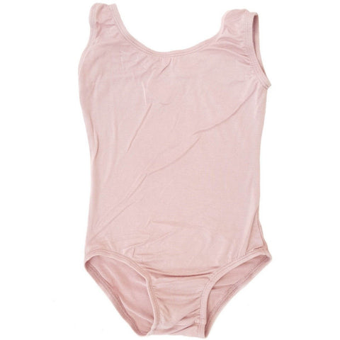Dusty Rose/Vintage Pink Sleeveless Leotard (Tank) - Morgan+Mae Co.