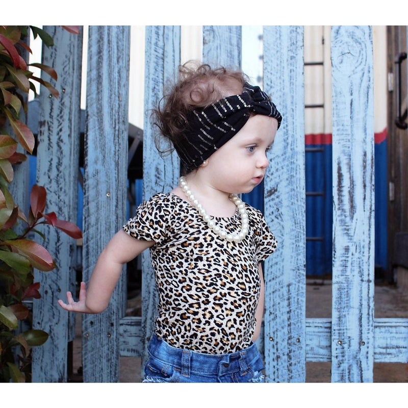Leopard cap sleeve Leotard (short sleeve) - Morgan+Mae Co.