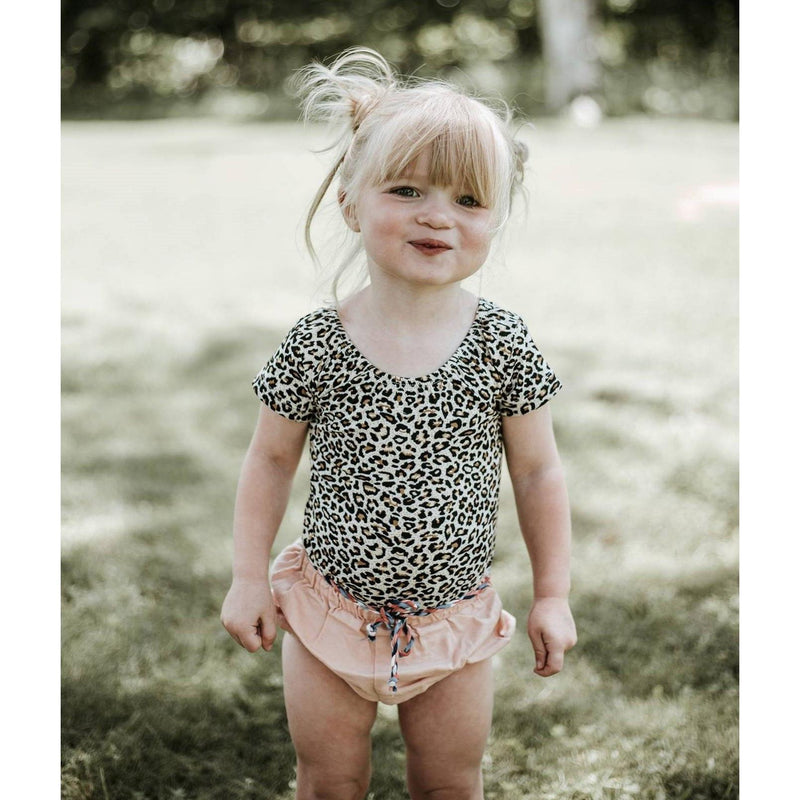 Morgan+Mae Co. Leotard Leopard cap sleeve Leotard (short sleeve)