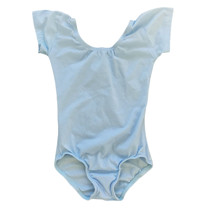 Morgan+Mae Co. Leotard Light Blue Cap Sleeve Leotard (Short Sleeve)