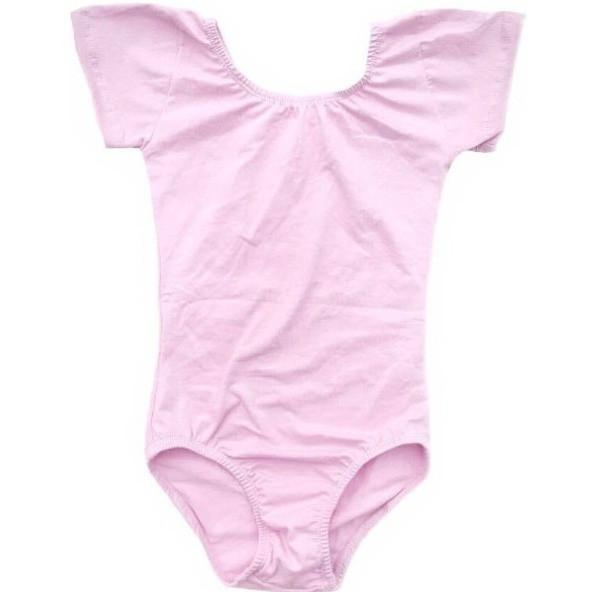 Morgan+Mae Co. Leotard Light Pink Cap Sleeve Leotard (Short Sleeve)