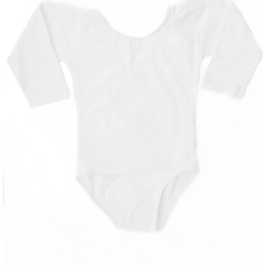 Morgan+Mae Co. Leotard Off-White (Long Sleeve) Leotard