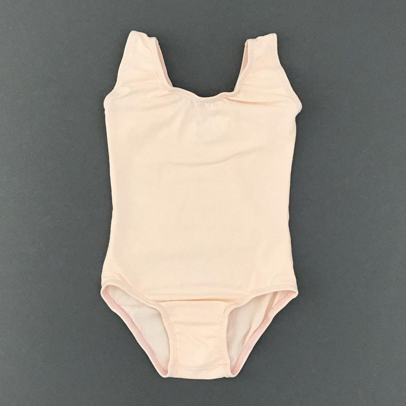 Morgan+Mae Co. Leotard Pretty in peach - Sleeveless Leotard (Tank)