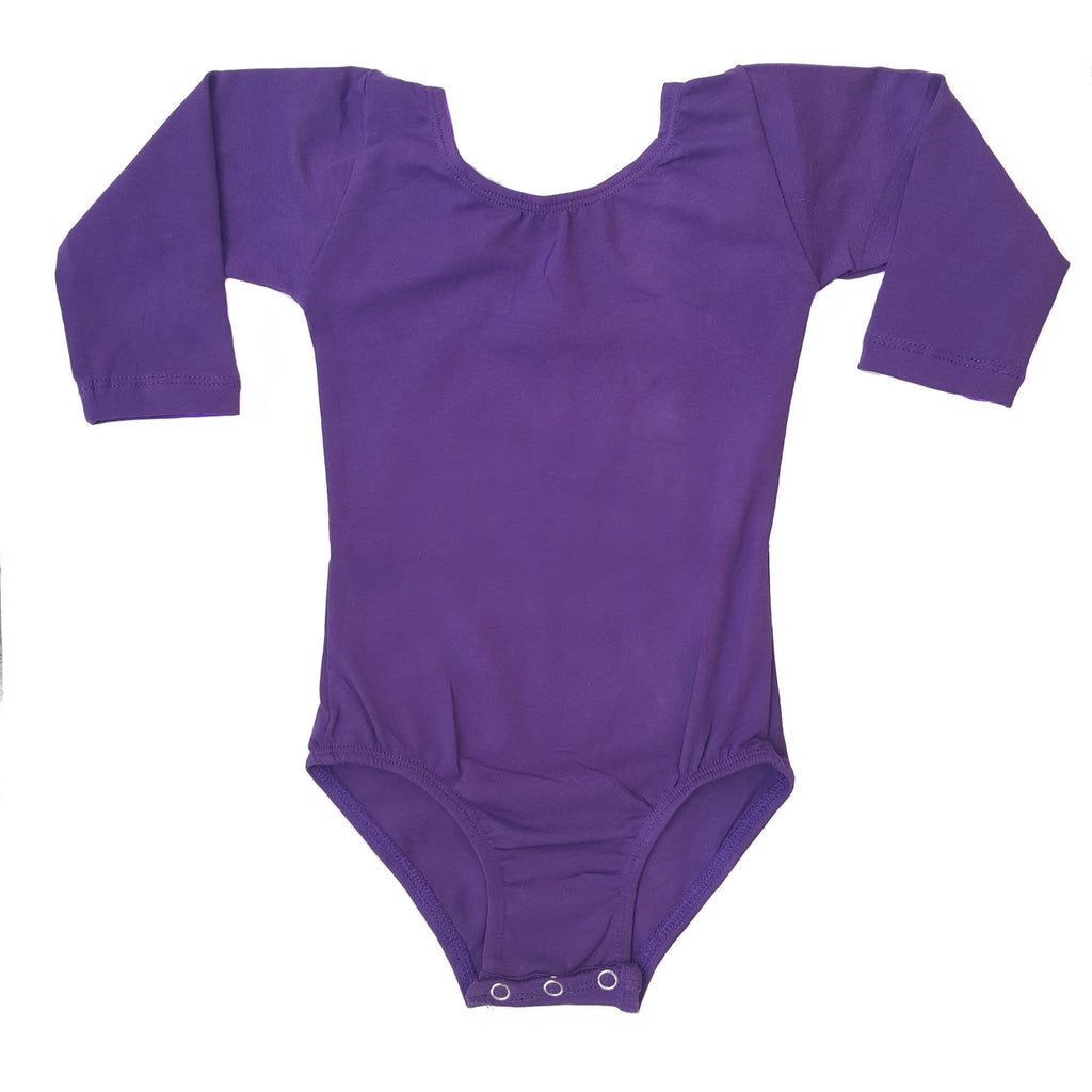 Purple (Long Sleeve) Leotard - Morgan+Mae Co.