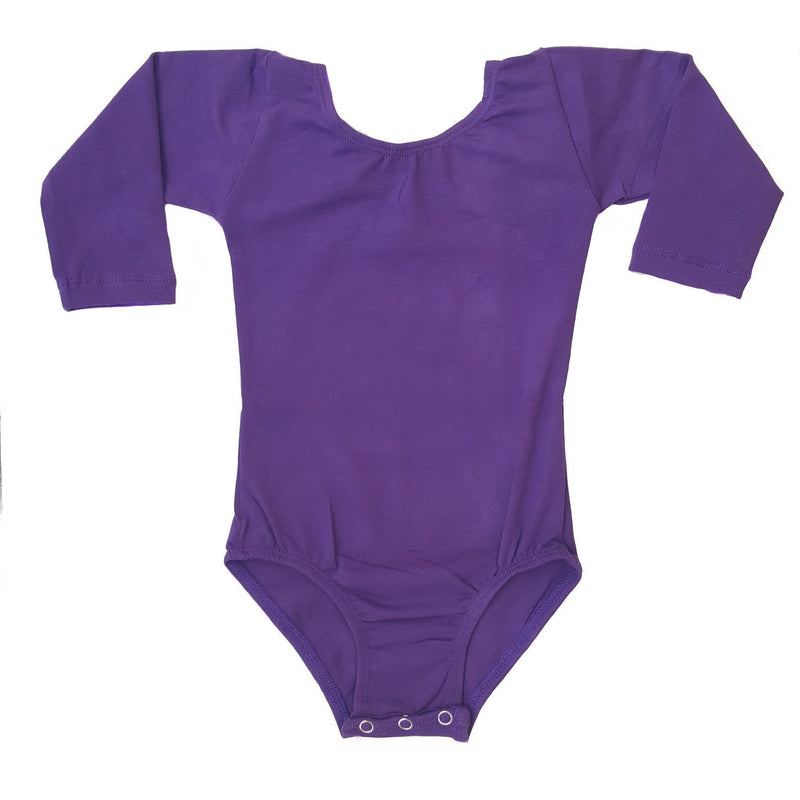 Morgan+Mae Co. Leotard Purple (Long Sleeve) Leotard