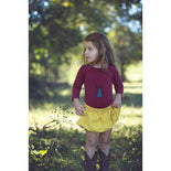 Wine/Cranberry (Long sleeve) leotard