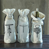 Cork Screw Wine Bag Set
