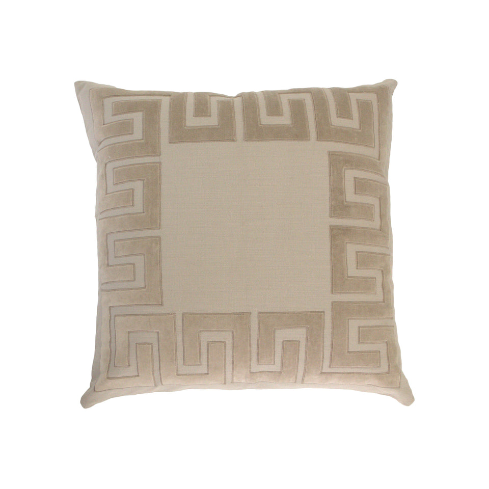 Aller Applique Deco Pillow