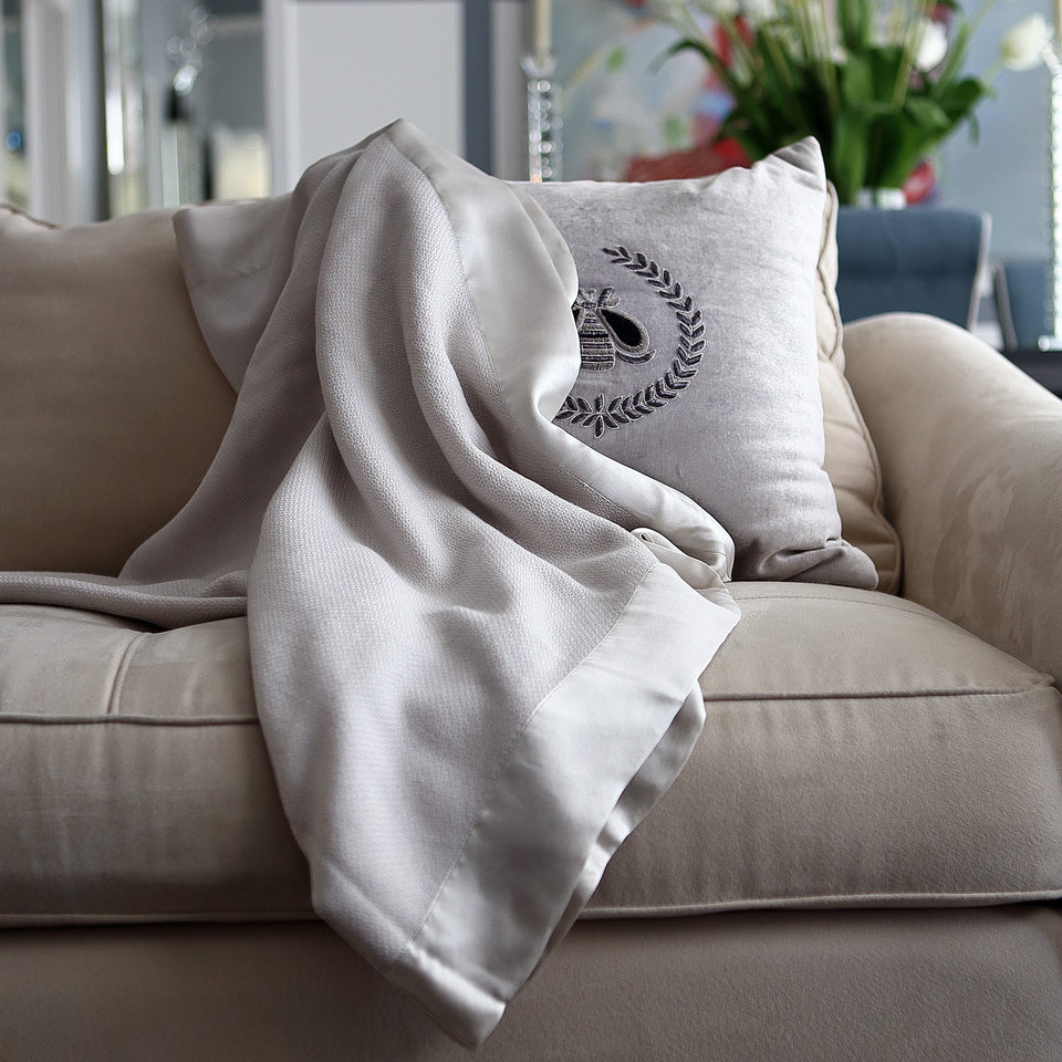 Bergen Wool & Silk Throw