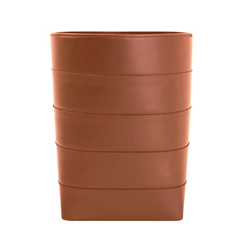 Architects Leather Bin