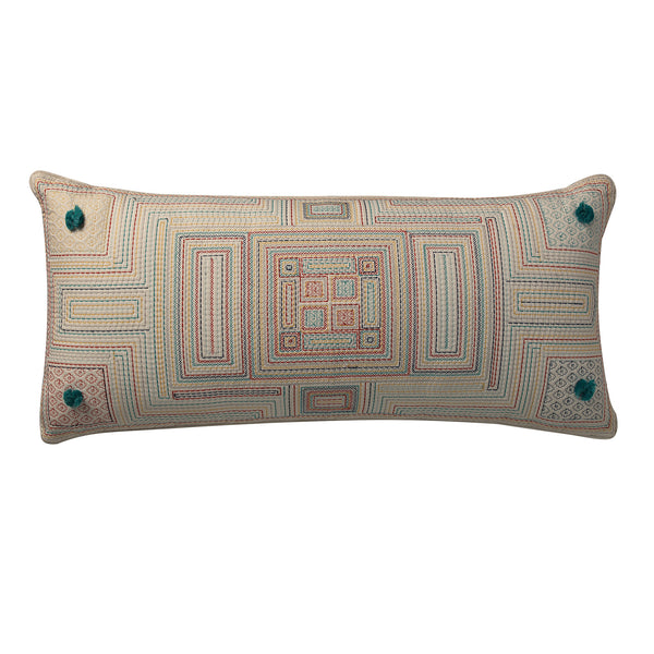 Carriles Pom Pom Deco Pillow