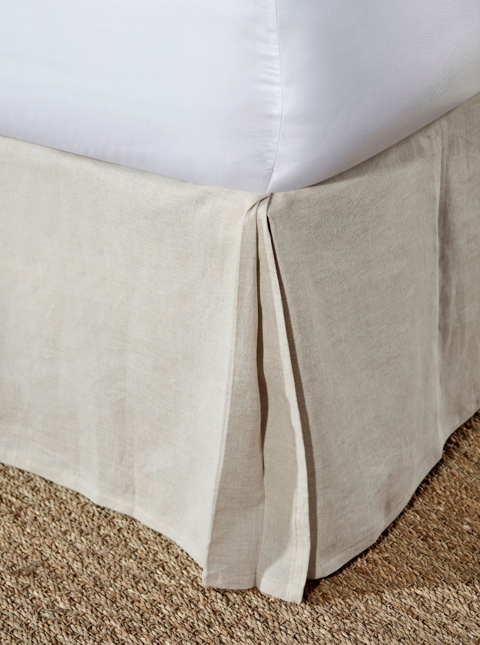 Zurich Bed Skirt Box Pleat