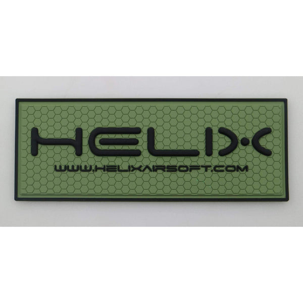 PVC Patch - Helix Airsoft Green