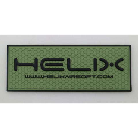Helix PVC Patch - Green
