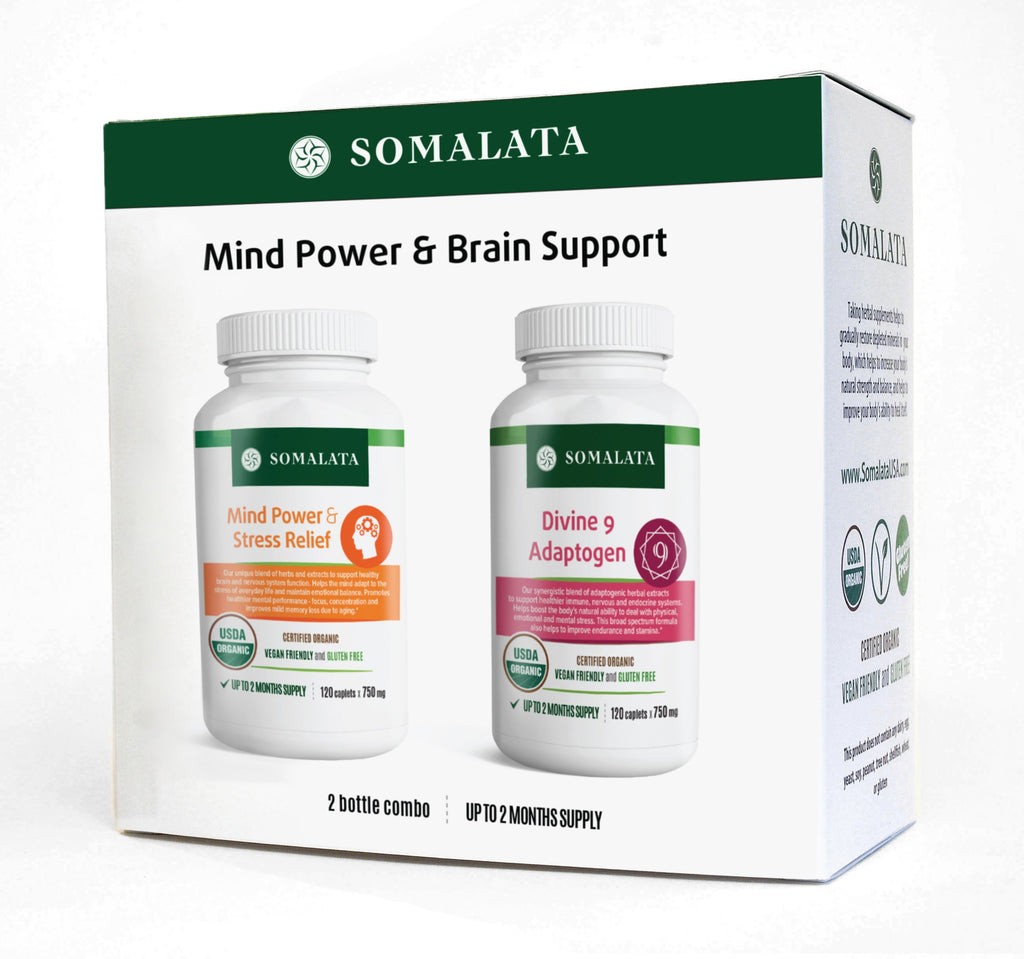 Mind Power & Brain Support Combo Set