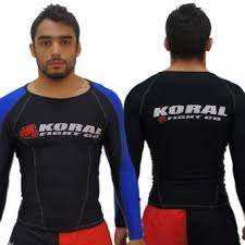 Koral Competition Rash Guard Long Sleeve - Blue
