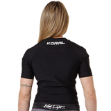 Rash Guard Pro Submission Short Sleeve - Black