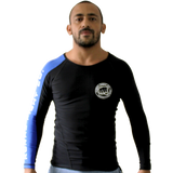 Rash Guard Competition Team Long Sleeve - Blue