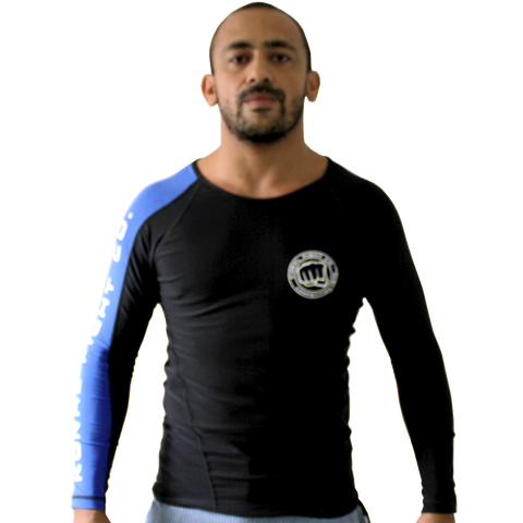 2017/18 Blue Long Sleeve Rash Guard