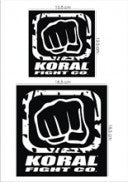 Koral Glove Patch Pack - Black/White