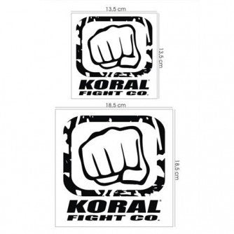 Koral Glove Patch Pack - White/Black