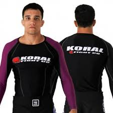 Koral Competition Rash Guard Long Sleeve - Purple