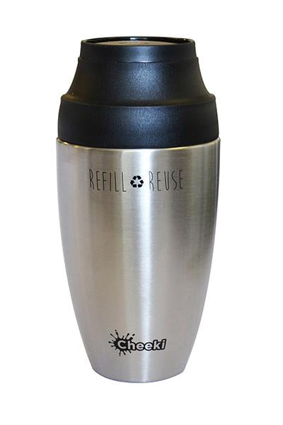 350ml Coffee Mug - Silver