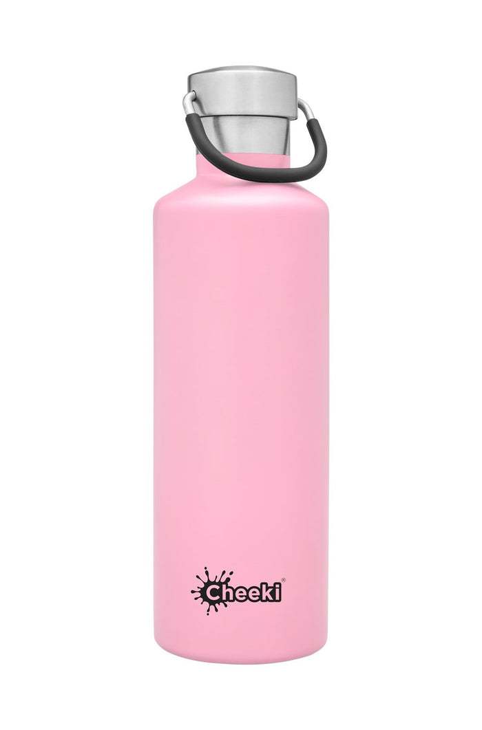 750ml  Classic Single Wall Bottle - Pink