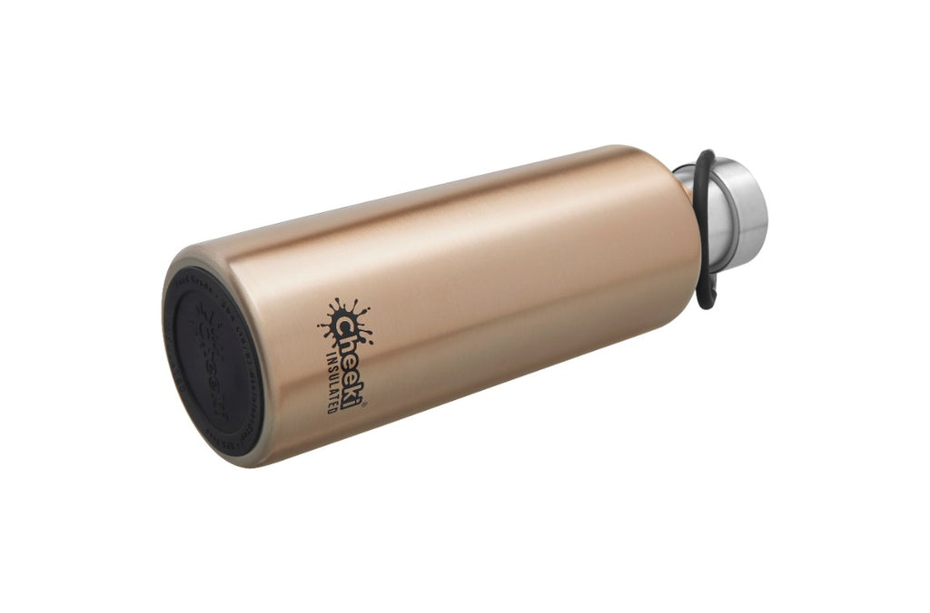 600ml Insulated Classic Bottle - Champagne