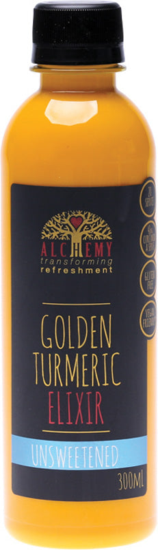 Golden Turmeric Elixir Unsweetened 300ml
