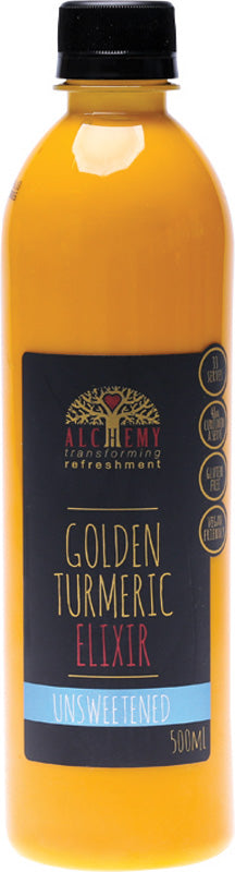 Golden Turmeric Elixir Unsweetened 500ml