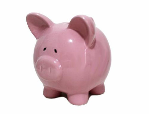 BB Piggy Bank Pink Large