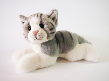 MONTY GREY CAT 25CM