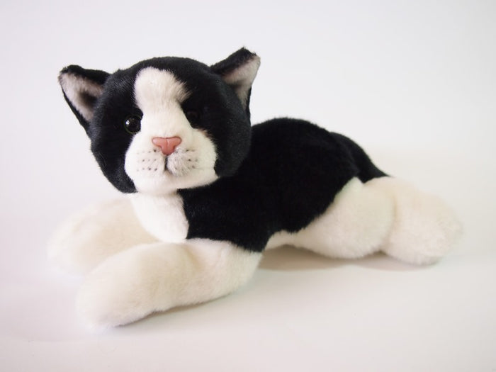 MILLA BLACK WHITE CAT 25CM